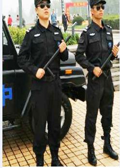 保安服务人员严格制止的行为